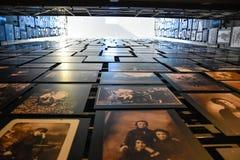Vista interna do museu memorável do holocausto, no Washington DC, EUA Foto de Stock