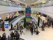 Vista interna na renovação de Bangkae da alameda fotos de stock