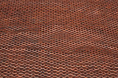 Vista isometrica del lato di struttura del tetto del cinese tradizionale Fotografie Stock