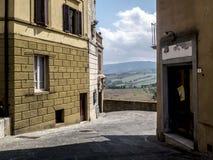 Vista italiana Fotografia Stock Libera da Diritti