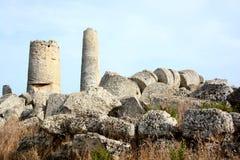 Vista italiana del deposito di archeologia fotografie stock