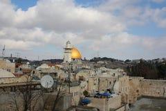 Vista Jerusalim, Israele Immagini Stock Libere da Diritti