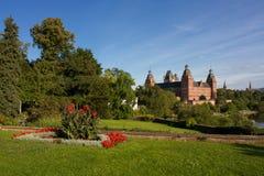 Vista of Johannisburg Palace Stock Photography