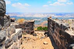 Vista a Jordan Valley Imagen de archivo libre de regalías