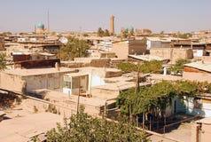 Vista Kalyan Minaret em Bukhara imagem de stock