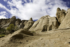 Vista Kasha-Katuwe Tent Rocks National Monument Royalty Free Stock Photography
