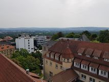 Vista Kassel fotografia de stock royalty free
