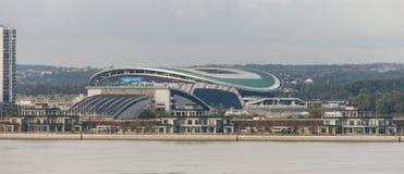 Vista a Kazan, Federazione Russa della via Immagine Stock