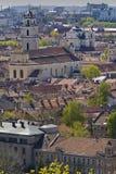 vista kościoła obrazy stock