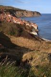 Vista a la bahía de los capos motor del petirrojo Fotografía de archivo libre de regalías