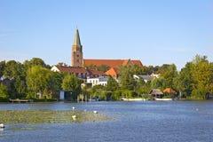 Vista a la ciudad Brandeburgo Foto de archivo