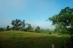 Vista a la granja Foto de archivo libre de regalías