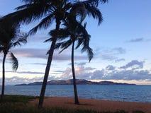 Vista a la isla magnética Imagenes de archivo