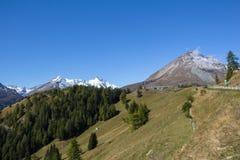 Vista a la montaña más alta de Grossglockner en Austria 3 los 798m Fotografía de archivo