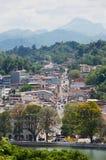 Vista a la parte central de la ciudad en Kandy, Sri Lanka fotografía de archivo