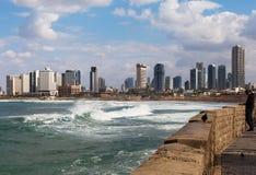 Vista a la Tel Aviv Imagen de archivo