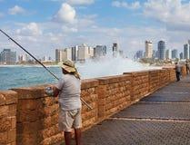 Vista a la Tel Aviv Fotografía de archivo