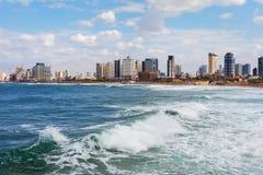 Vista a la Tel Aviv Fotos de archivo