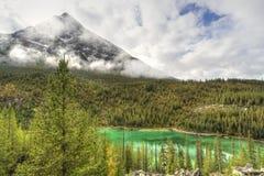 Vista Lake and Storm Mountain Stock Photo