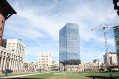 Vista larga de Denver Imagem de Stock