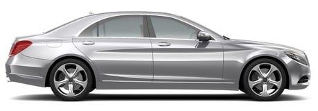 Vista lateral automotriz de lujo del mismo tamaño del mismo tamaño Imagen de archivo