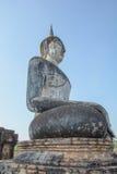 Vista lateral de Buda foto de archivo