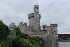 Vista lateral de Cork Ireland del castillo de Blackrock Fotografía de archivo libre de regalías