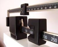 Vista lateral de la escala Fotografía de archivo