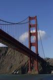 Vista lateral de puente Golden Gate Imagen de archivo