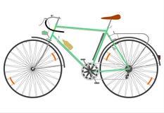 Bicicleta retro da estrada. ilustração royalty free