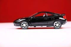 Vista lateral del celicia de Toyota Foto de archivo libre de regalías
