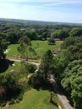 Vista lateral del país Fotografía de archivo libre de regalías