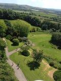 Vista lateral del país Foto de archivo