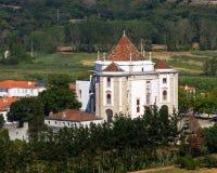 Vista lateral del santuario imagenes de archivo