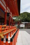 Vista lateral del templo Foto de archivo