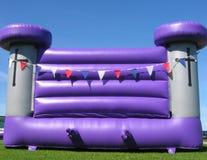 Castelo Bouncy Foto de Stock
