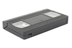 Vista lateral do video tape do VHS foto de stock
