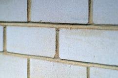 Vista laterale dei mattoni - struttura Immagini Stock