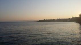 Vista laterale del lago fotografia stock libera da diritti