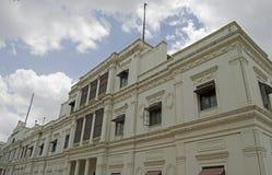 Vista laterale del palazzo storico Indore di Lalbagh Fotografia Stock Libera da Diritti