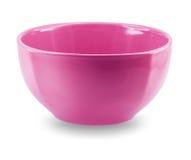 Vista laterale del piatto del piatto della sfera su fondo bianco Fotografia Stock Libera da Diritti