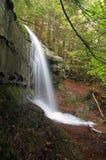 Vista laterale della cascata Fotografia Stock Libera da Diritti