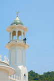 Vista laterale della moschea Fotografia Stock Libera da Diritti