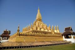 Vista laterale della pagoda Fotografie Stock