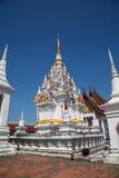 Vista laterale della pagoda Fotografia Stock Libera da Diritti