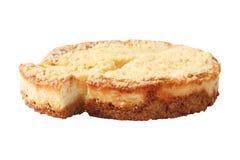 Vista laterale della torta di formaggio Fotografia Stock Libera da Diritti