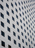 Vista laterale delle finestre della stanza Fotografia Stock Libera da Diritti