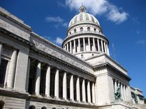 Vista laterale di Capitolio Immagine Stock Libera da Diritti