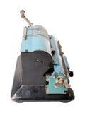 Vista laterale isolata di arithmometer Fotografia Stock