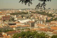 Vista Lisbona Fotografie Stock